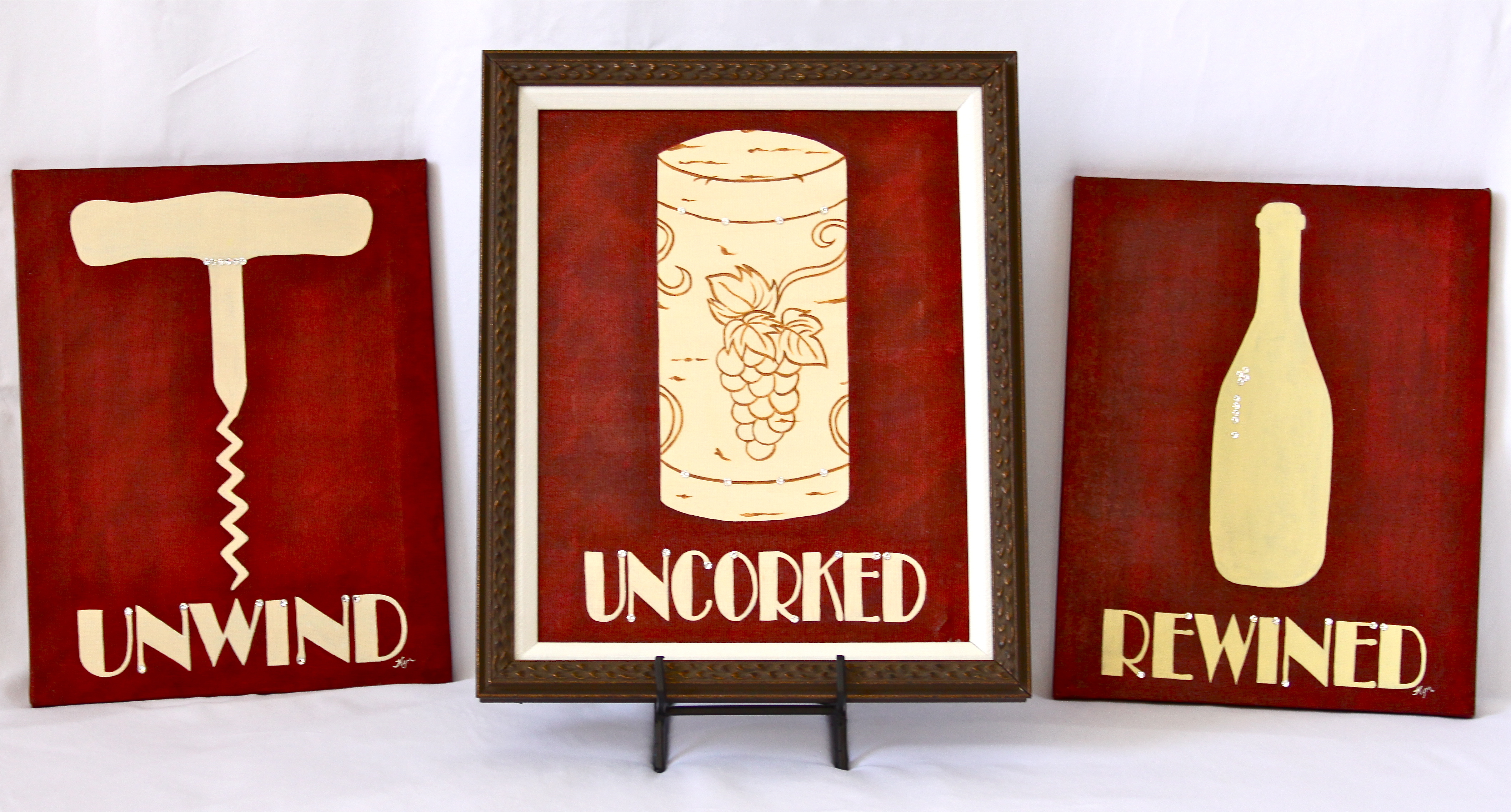 Kym Wine Canvas